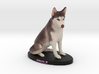 Custom Dog Figurine - Jingle (Sitting) 3d printed