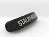 STALHANDSKE Nameplate for SteelSeries Rival 3d printed