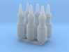 TEST: 1:24 1 Quart Glass Oil Bottles 3d printed