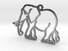 Elephant Memory Pendant 3d printed