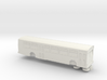 HO scale gillig phantom bus (solid) 3d printed