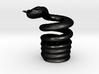 Snake Cigarette Stubber 3d printed Snake Cigarette Stubber in matte black steel