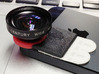 STICK ON - iPro lens mount for iPhone5 & iPad 3d printed