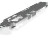 O Scale FRAME for Red Arrow DE PCC 3d printed
