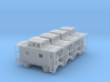 Bobber Caboose - Set of 4 - Zscale 3d printed