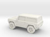 1/87 2004 Ford Bronco Concept  3d printed