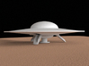 Flying saucer, 100 mm 3d printed