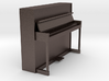 Miniature 1:24 Upright Piano 3d printed