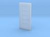 """Miniature 1:48 5 Panel 30"""" Door 3d printed"""