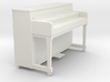 Miniature 1:24 Upright Piano Low 3d printed
