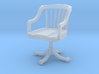 Miniature 1:48 Office Rolling Chair 3d printed