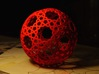 Islamic star ball with 11-pointed stars 3d printed