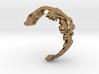 Diplocaulus Ring -Small- (Free-size) 3d printed