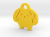 Wooser Key Chain 3d printed