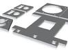 MRA1 parts 3d printed
