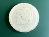 BitCoin Test - 1ABKCCvfZwKLbpqxEUSAd35aafxGiyyHG3 3d printed Frosted Ultra Detail (front)