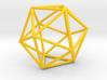Icosahedron (100 cc) 3d printed