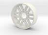 BP8 rear wheel for foam tires OtO 3d printed