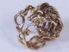Hedgehog Ring 3d printed