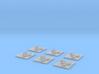 "Taiidan ""Kaark"" Attack Bombers (6) 3d printed"