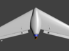 Mach 3 Micro Flying Wing 3d printed