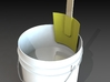 5 Gallon Size Bucket Paint Scraper  3d printed