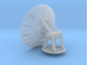 YT1300 HSBRO SET RADAR 67 MM AND SUPPORT 3d printed Millennium set composed by a 67 mm radar dish and the support, render.