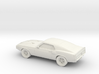 1/87 1969 Ford Shelby GT 500  3d printed