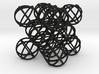 """Packed Spheres Cuboctahedron - 3.6"""" 3d printed"""