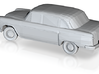 N-Scale (1:160) 1965 Checker Cab 3d printed