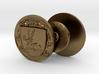 Bowen Family Crest Cufflinks 3d printed
