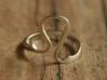 Leo Sign Ring - Leo Zodiac Ring 3d printed