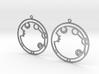 Alexandra - Earrings - Series 1 3d printed