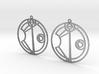 Alexis - Earrings - Series 1 3d printed