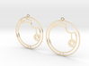Alicia / Alisia - Earrings - Series 1 3d printed