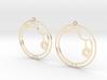 Alicia / Alisia - Earrings - Series 1 3d printed