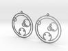 Chloe - Earrings - Series 1 3d printed