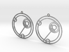 Ellie - Earrings - Series 1 3d printed
