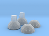 1/4222 Star Destroyer Deflector Domes 3d printed