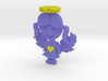 Pendant Full Color Blue Angel Girl 3d printed