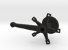Crank Arm Cufflink 3d printed