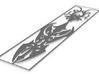 Tribal Bookmark v1 1.5mm 3d printed