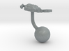 Mexico Terrain Cufflink - Ball 3d printed