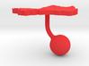 Mali Terrain Cufflink - Ball 3d printed