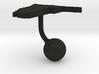 Namibia Terrain Cufflink - Ball 3d printed