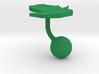 Paraguay Terrain Cufflink - Ball 3d printed