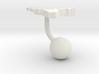Belgium Terrain Cufflink - Ball 3d printed