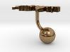 Switzerland Terrain Cufflink - Ball 3d printed