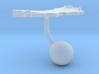 Oman Terrain Cufflink - Ball 3d printed