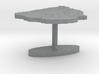 Uruguay Terrain Cufflink - Flat 3d printed